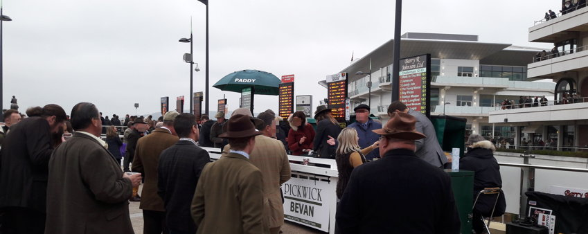 bookies plying their trade at cheltenham racecourse
