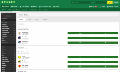 unibet screenshot