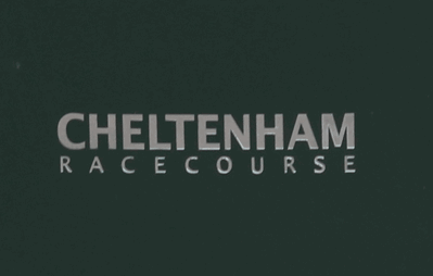 cheltenham racecourse sign