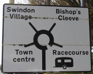 cheltenham racecourse traffic signs