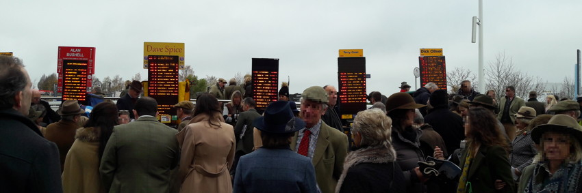bookies on course at cheltenham november meeting