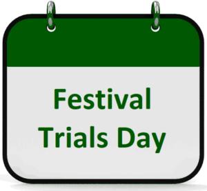 Cheltenham racecourse festival trials day