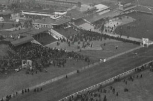 old cheltenham festival view of stands and spectators