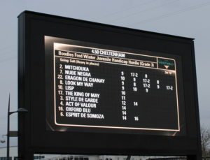 fred winter juvinille handicap chase ladies day race information board