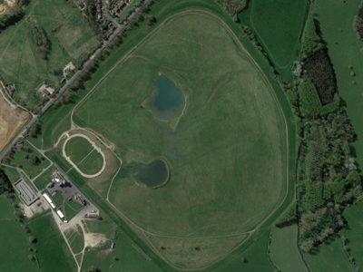 towcester racecourse from above