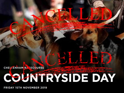 countryside day cancelled