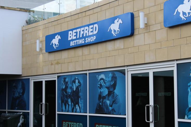 betfred shop at chetenham racecourse