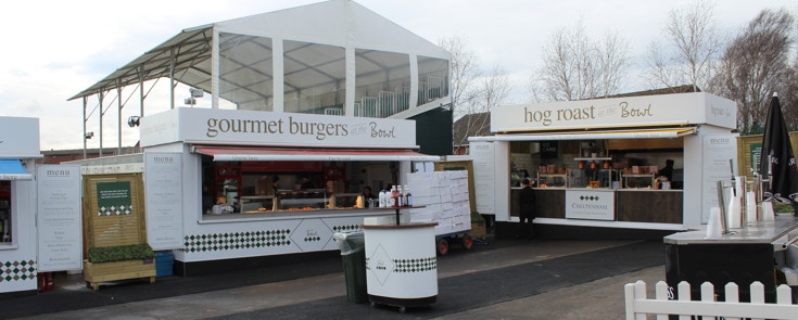 food outlets at Cheltenham racecourse
