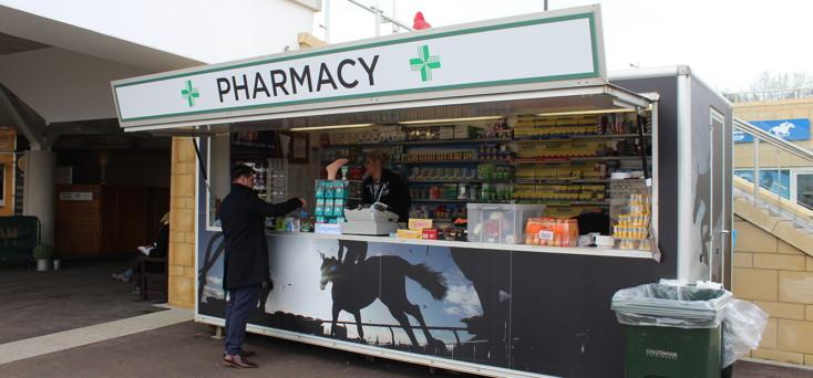 pharmacy at cheltenham racecourse