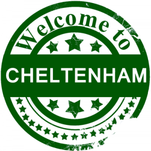 welcome to cheltenham sign
