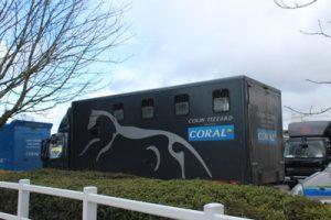 collin tizzard horse truck