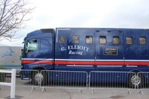 gordon elliot horse transport truck