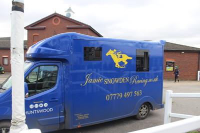 jamie snowden horse transport van