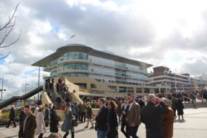 cheltenham getting ready for racing to start