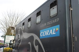 collin tizzard horse box at cheltenham