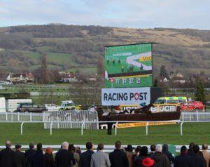 leader jumps cheltenham final fence