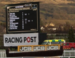 martin pipe conditional race board at cheltenham gold cup day