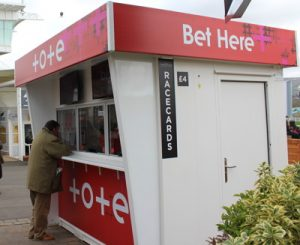 tote betting stall