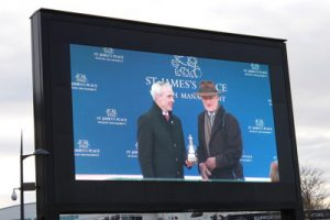 willie mullins get a trophy