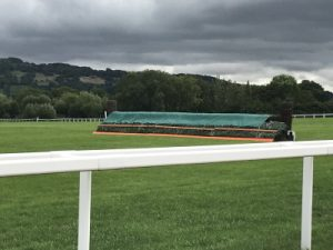 cheltenham racecourse fence and ground