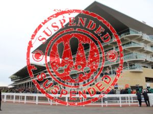 cheltenham stand with suspended stamp