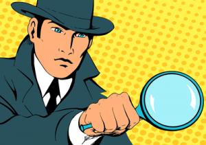 investigation cartoon image